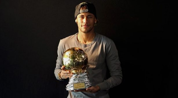 Neymar makes the cut for the 2016 Ballon d'Or