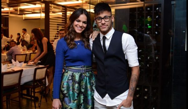 Bruna Marquezine and Neymar together in 2017