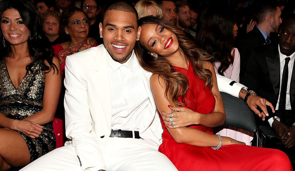 Chris Brown and Rihanna in 2013