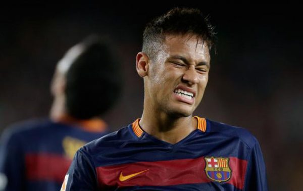 Neymar unhappy in Barcelona