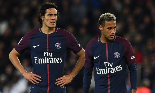 Cavani plays down dispute with Neymar