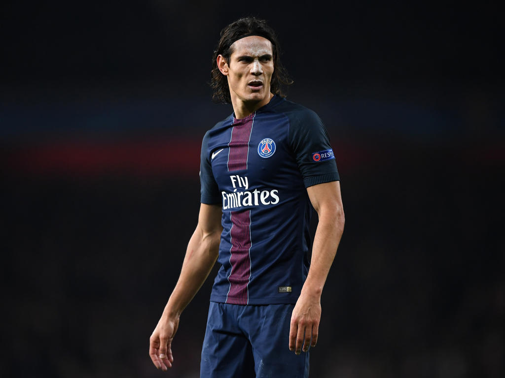 Edison Cavani PSG Striker in 2017