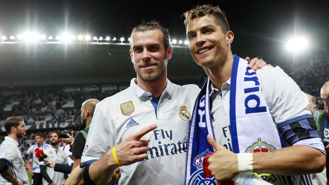 Gareth Bale and Cristiano Ronaldo in Real Madrid