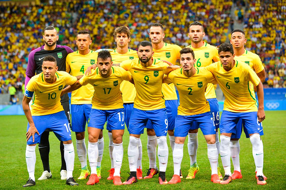 Brazil National Team for the 2018 FIFA World Cup