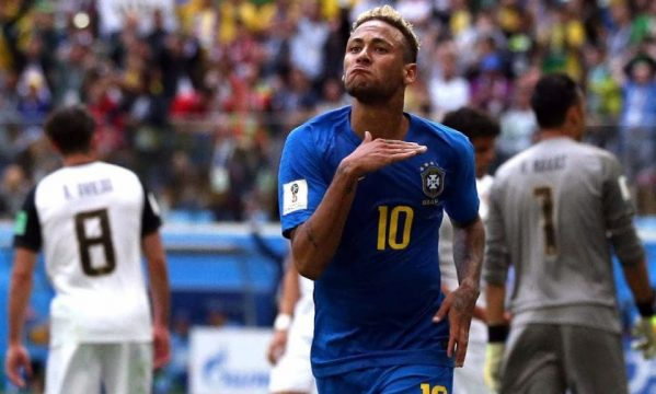 The story of Neymar's World Cup