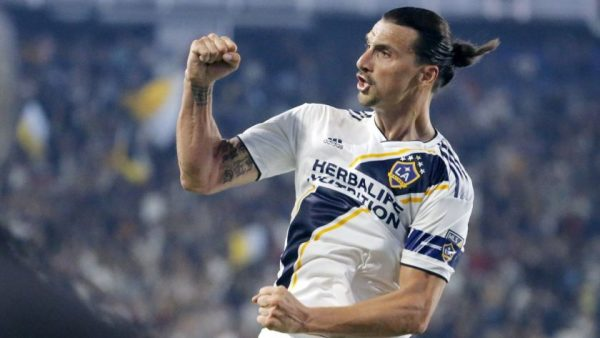 Zlatan in the MLS playing for LA Galaxy