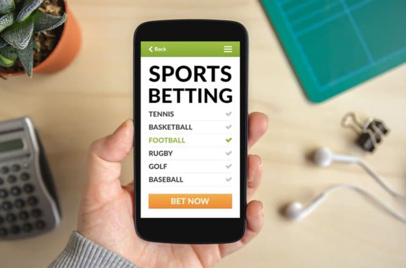 Sports betting mobile phone